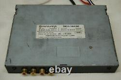 Vintage Pioneer DEX-M400 CD Changer Controller withAUX and remote car stereo rare