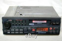 Vintage Pioneer KEH-9000 AM/FM cassette car stereo Chevy Ford Mopar old rare
