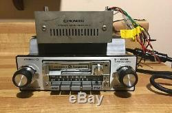 Vintage Pioneer KPX-9500 Component cassette car stereo with GM-40 Amp