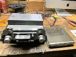Vintage Pioneer Supertuner KPX-6500 + GM4 amp Car Stereo working condition
