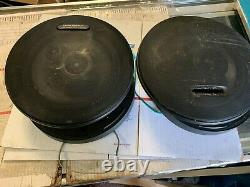 Vintage Pioneer TS-E2099 Car Stereo Speakers 8 inch 3 way rare Old School