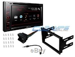 Vw Pioneer Touchscreen Double 2 Din Car Stereo Radio & Complete Dash Install Kit